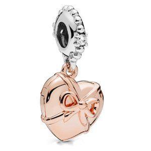 Pandora Rose Openable Heart Dangle Charm
